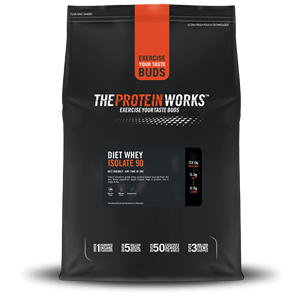 Sữa Tăng Cơ  The Protein Works (TPW) Diet Whey Isolate 90 - Cherry Bakewell 1kg